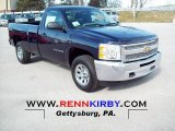 2012 Black Chevrolet Silverado 1500 Work Truck Regular Cab 4x4 #67961880