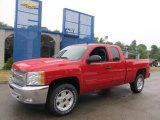 2013 Victory Red Chevrolet Silverado 1500 LT Extended Cab 4x4 #67961580