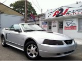 2000 Silver Metallic Ford Mustang V6 Convertible #67962133