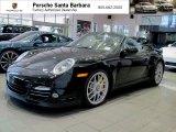 2012 Black Porsche 911 Turbo S Cabriolet #67961554