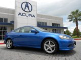 2006 Vivid Blue Pearl Acura RSX Type S Sports Coupe #67961471