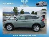 2012 Opal Sage Metallic Honda CR-V EX-L 4WD #67962042