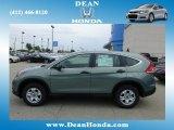 2012 Opal Sage Metallic Honda CR-V LX 4WD #67962037