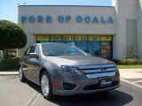 2010 Sterling Grey Metallic Ford Fusion Hybrid #6790763