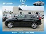 2012 Crystal Black Pearl Honda CR-V EX 4WD #67962030