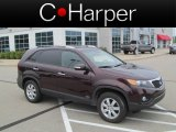 2011 Dark Cherry Kia Sorento LX AWD #67961434