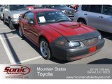 2002 Laser Red Metallic Ford Mustang GT Coupe #67961396