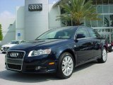 2008 Deep Sea Blue Pearl Effect Audi A4 2.0T Special Edition Sedan #6787529