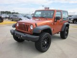 2011 Mango Tango Pearl Jeep Wrangler Sport S 4x4 #67961674