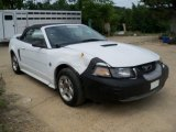 1999 Crystal White Ford Mustang V6 Convertible #67961671