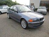 2001 Steel Blue Metallic BMW 3 Series 325xi Sedan #67961923