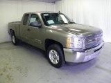 2013 Graystone Metallic Chevrolet Silverado 1500 LT Extended Cab #67961916