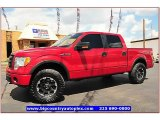 2010 Vermillion Red Ford F150 FX4 SuperCrew 4x4 #68018964