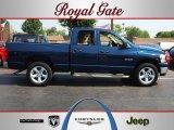 2008 Patriot Blue Pearl Dodge Ram 1500 ST Quad Cab 4x4 #68018709