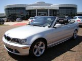 2006 Titanium Silver Metallic BMW 3 Series 325i Convertible #6798213