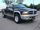 2003 Black Dodge Dakota SLT Quad Cab #68018694