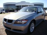 2007 Arctic Metallic BMW 3 Series 328i Sedan #6798060