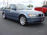 2003 Steel Blue Metallic BMW 3 Series 325i Sedan #68018920