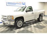 2013 Summit White Chevrolet Silverado 1500 LT Regular Cab 4x4 #68018915