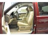2013 Chevrolet Silverado 1500 LTZ Crew Cab 4x4 Light Cashmere/Dark Cashmere Interior