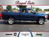 2008 Patriot Blue Pearl Dodge Ram 1500 Big Horn Edition Quad Cab 4x4 #68018901