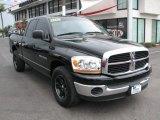 2006 Black Dodge Ram 1500 Laramie Quad Cab #68018896