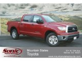 2012 Barcelona Red Metallic Toyota Tundra CrewMax 4x4 #68018652