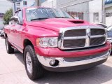 2002 Flame Red Dodge Ram 1500 SLT Quad Cab 4x4 #68018755
