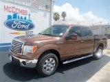 2012 Golden Bronze Metallic Ford F150 XLT SuperCrew #68042643