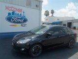 2012 Tuxedo Black Metallic Ford Focus SE Sport Sedan #68042642