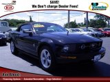 2007 Black Ford Mustang V6 Premium Convertible #68042711
