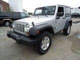 2011 Bright Silver Metallic Jeep Wrangler Sport S 4x4 #68042620