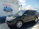 2013 Green Gem Metallic Ford Explorer XLT #68042658