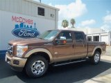 2012 Golden Bronze Metallic Ford F250 Super Duty King Ranch Crew Cab 4x4 #68042645