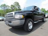 2001 Black Dodge Ram 1500 SLT Club Cab 4x4 #68051821
