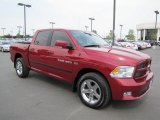 2011 Deep Cherry Red Crystal Pearl Dodge Ram 1500 Sport Crew Cab 4x4 #68051619