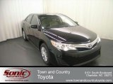 2012 Attitude Black Metallic Toyota Camry LE #68051597
