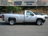 2012 Silver Ice Metallic Chevrolet Silverado 1500 Work Truck Regular Cab #68051381
