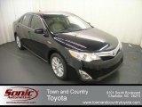 2012 Attitude Black Metallic Toyota Camry Hybrid XLE #68051592