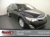 2012 Attitude Black Metallic Toyota Camry Hybrid XLE #68051589