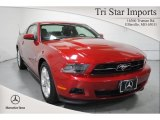 2011 Red Candy Metallic Ford Mustang V6 Premium Coupe #68051571