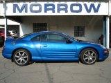 2003 Flash Blue Pearl Mitsubishi Eclipse GTS Coupe #68051349