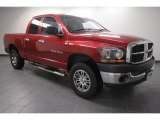 2006 Inferno Red Crystal Pearl Dodge Ram 1500 ST Quad Cab #68051559
