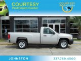 2009 Silver Birch Metallic Chevrolet Silverado 1500 Regular Cab #68051332