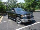 2012 Black Dodge Ram 1500 Laramie Crew Cab 4x4 #68051690