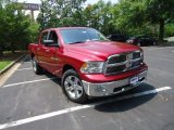 2012 Deep Cherry Red Crystal Pearl Dodge Ram 1500 Big Horn Crew Cab 4x4 #68051688