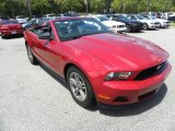 2011 Red Candy Metallic Ford Mustang V6 Premium Convertible #68051457