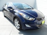 2012 Indigo Night Blue Hyundai Elantra Limited #68051442