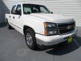 2006 Summit White Chevrolet Silverado 1500 LS Crew Cab #68051436