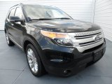 2013 Tuxedo Black Metallic Ford Explorer XLT #68051433